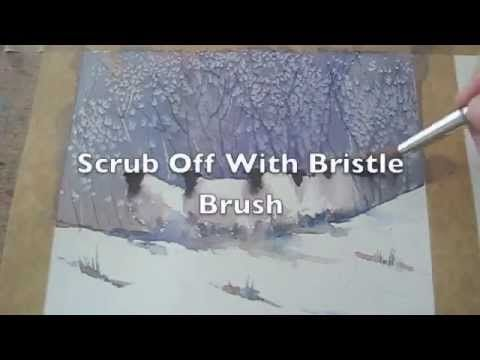 c890a2ee4 Speed Watercolour Painting How To Paint Sheep In Winter Snow Tips &  Techniques - YouTube
