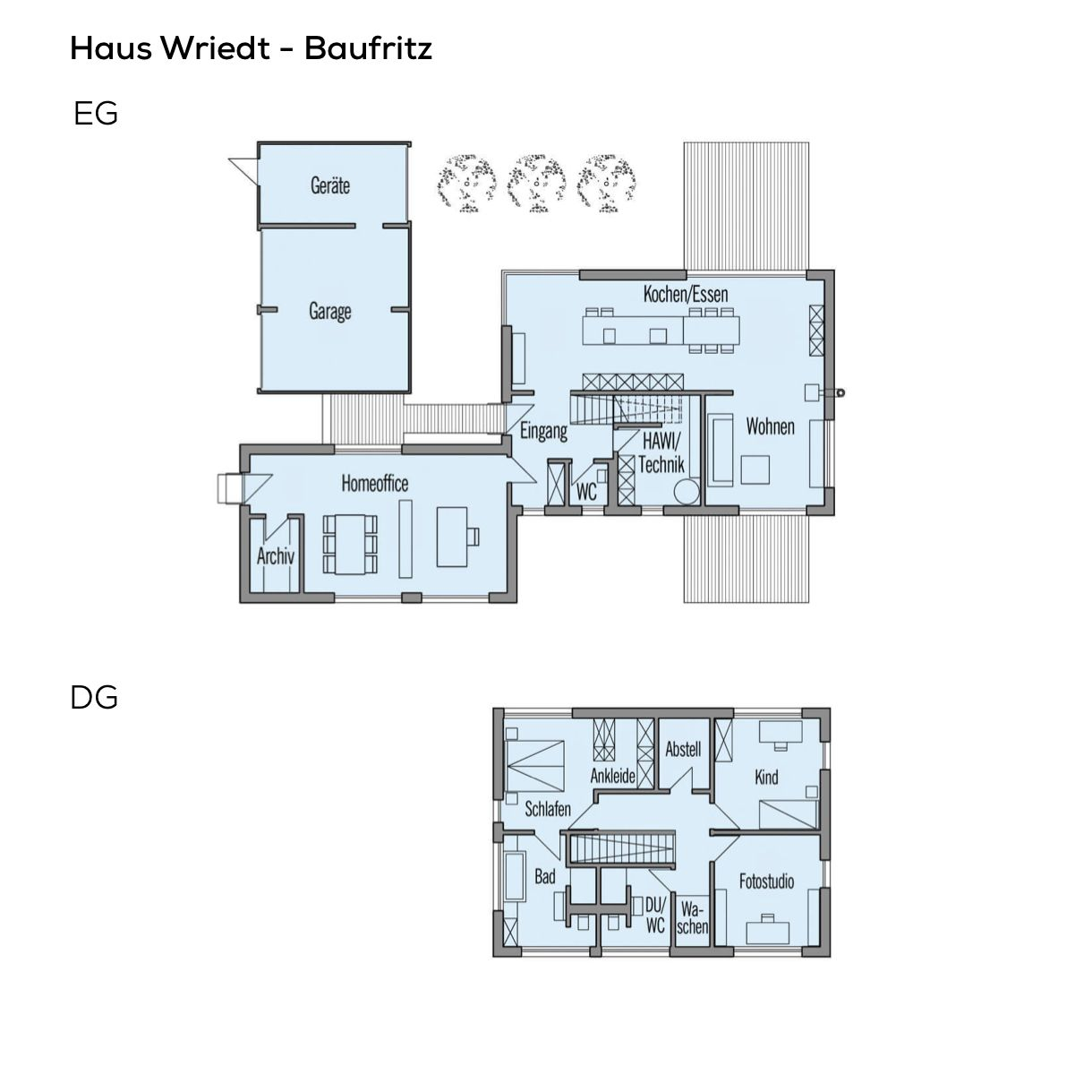 Grundriss einfamilienhaus mit doppelgarage und b ro anbau for Grundriss einfamilienhaus 2 vollgeschosse