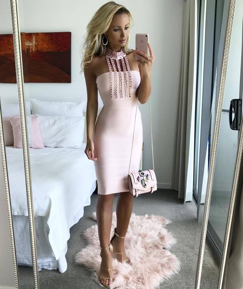 Crystal Bandage Dress