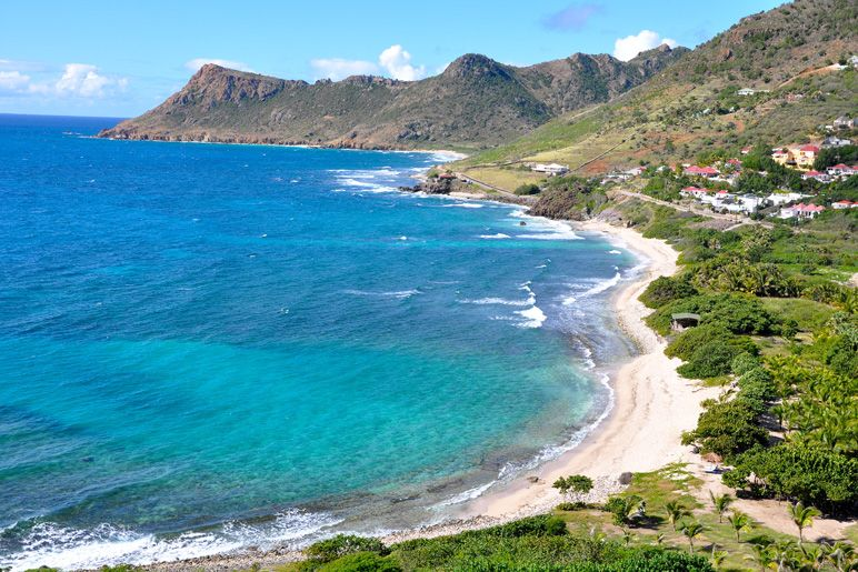 Flamands Beach -  Saint Barthelemy, French West Indies