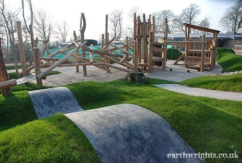 Playground Build Amp Design Natural Wood Earthwrights