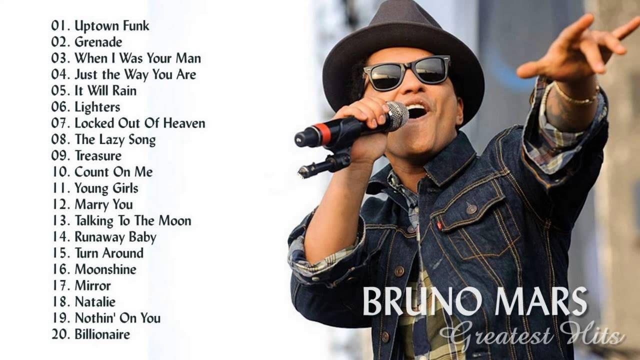 Bruno Mars's Greatest Hits | Best Songs Of Bruno Mars