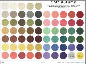 Autumn test pattern