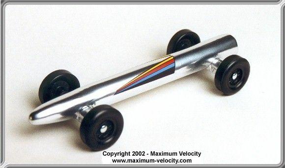 Pinewood Derby Standard Rocket Car Design