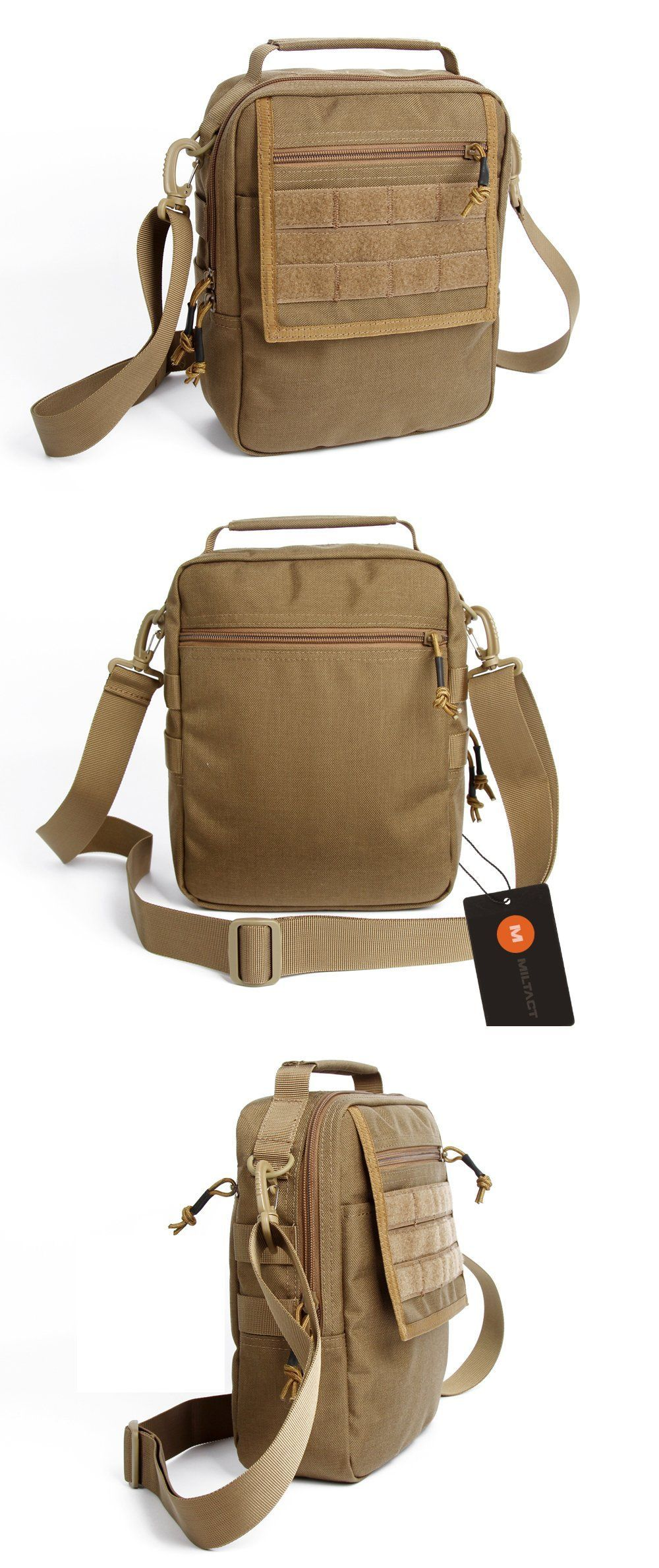 Tactical MOLLE Messenger Bag For Work Leisure