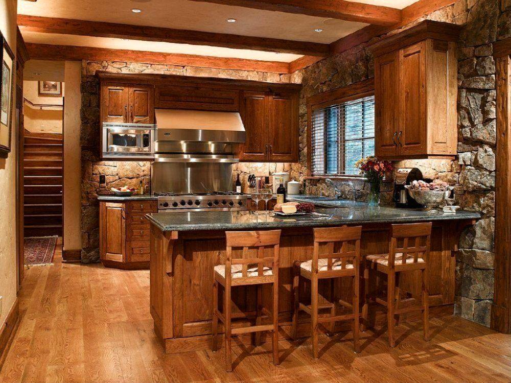 Cocinas Con Isla Rusticas Buscar Con Google Decoracion De Cocinas Rusticas Cocinas Rústicas Decoración De Cocina