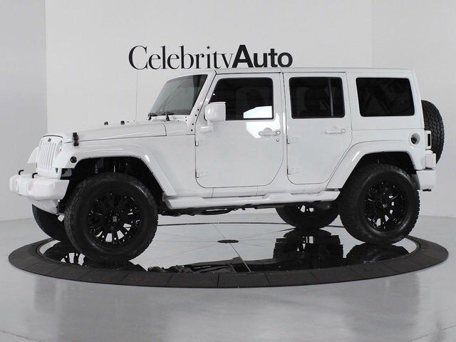 White Lifted Wrangler Jeep With Black Rims Cars 2012 Jeep