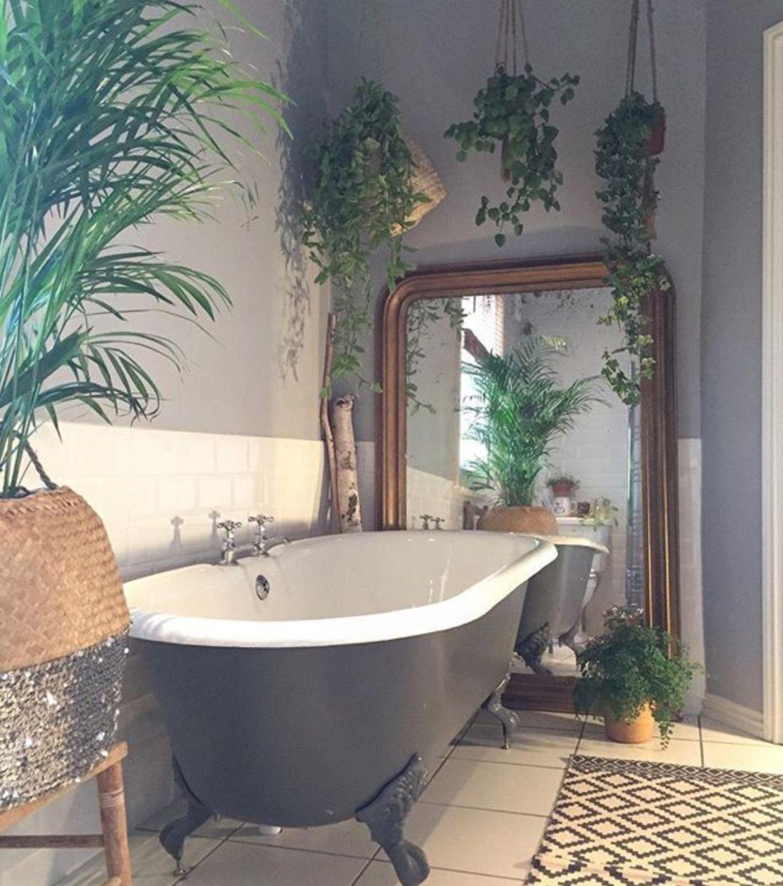 house of instagram bathroom ideas and inspiration bathroom plants bathroom home d cor. Black Bedroom Furniture Sets. Home Design Ideas