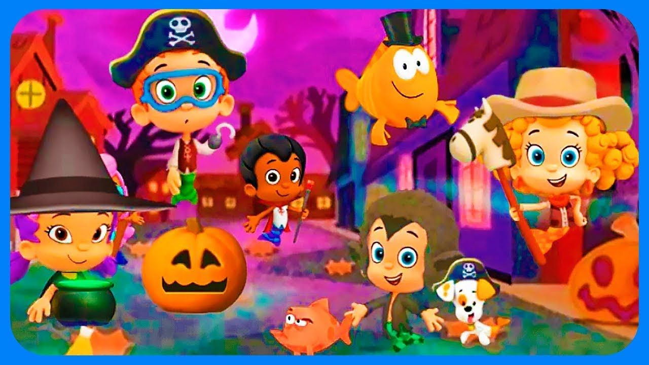 Halloween Party with Bubble Guppies 🎃 Fun Baby Game Best