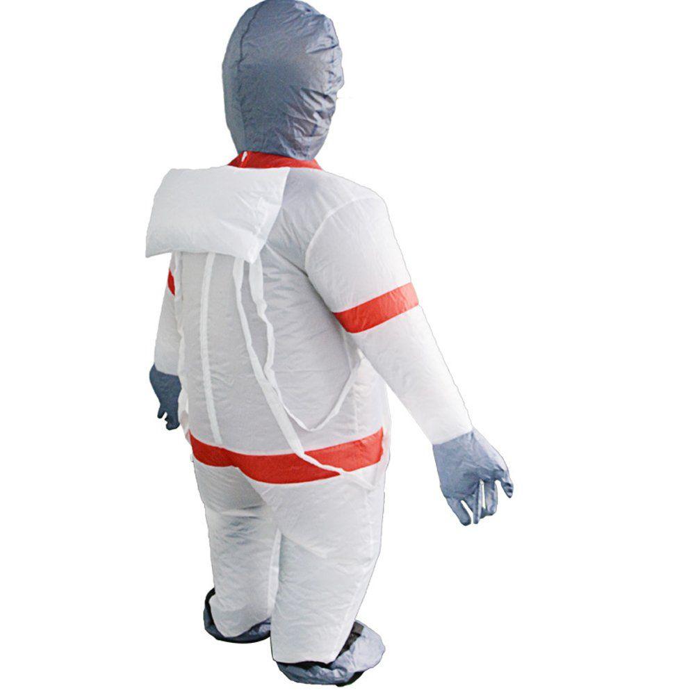 bestsight Inflatable Astronaut Costume Adult Fancy Dress ...