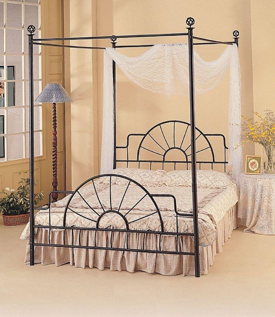 Black Metal Canopy Bed Frame Queen - Black Metal Canopy Bed Frame Queen Bed Frames Ideas Pinterest