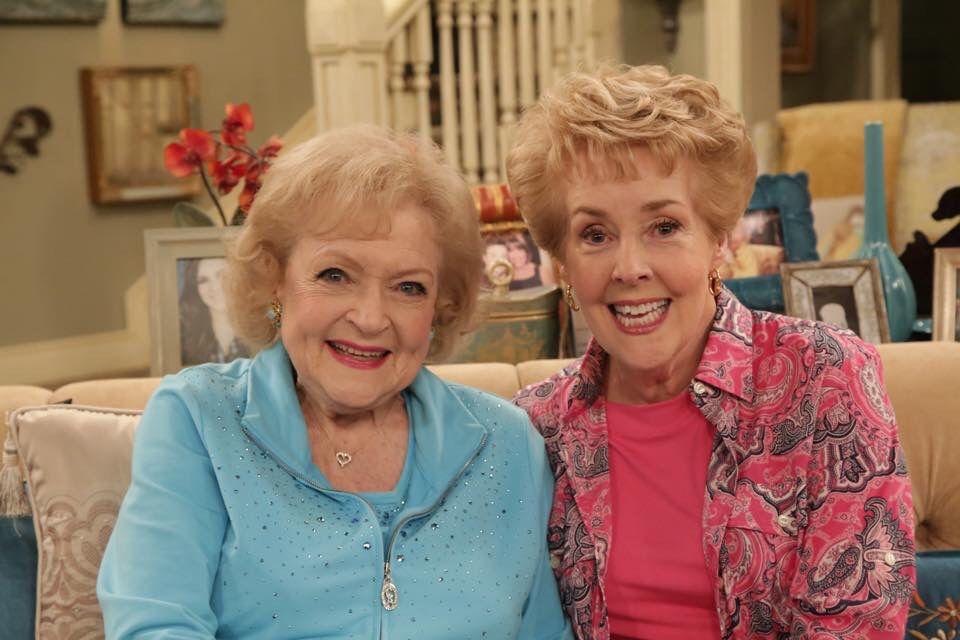 Betty White and Georgia Engel | Betty white, Georgia