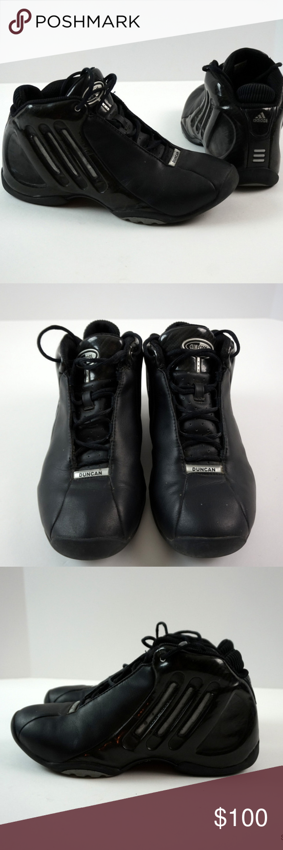 07493bb6 Adidas Tim Duncan D Cool ClimaCool Basketball Shoe Adidas Tim Duncan D Cool Basketball  Shoes Clima Cool Spurs Black Men's Size 10 These are the Signature ...