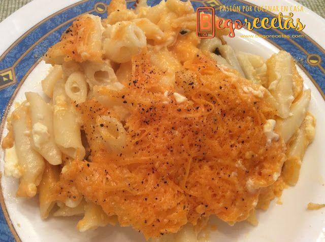 """BEGORECETAS -RECETAS CON OLLAS GM Y COCINA TRADICIONAL: Macarrones con queso, """"Mac&Cheese"""""""