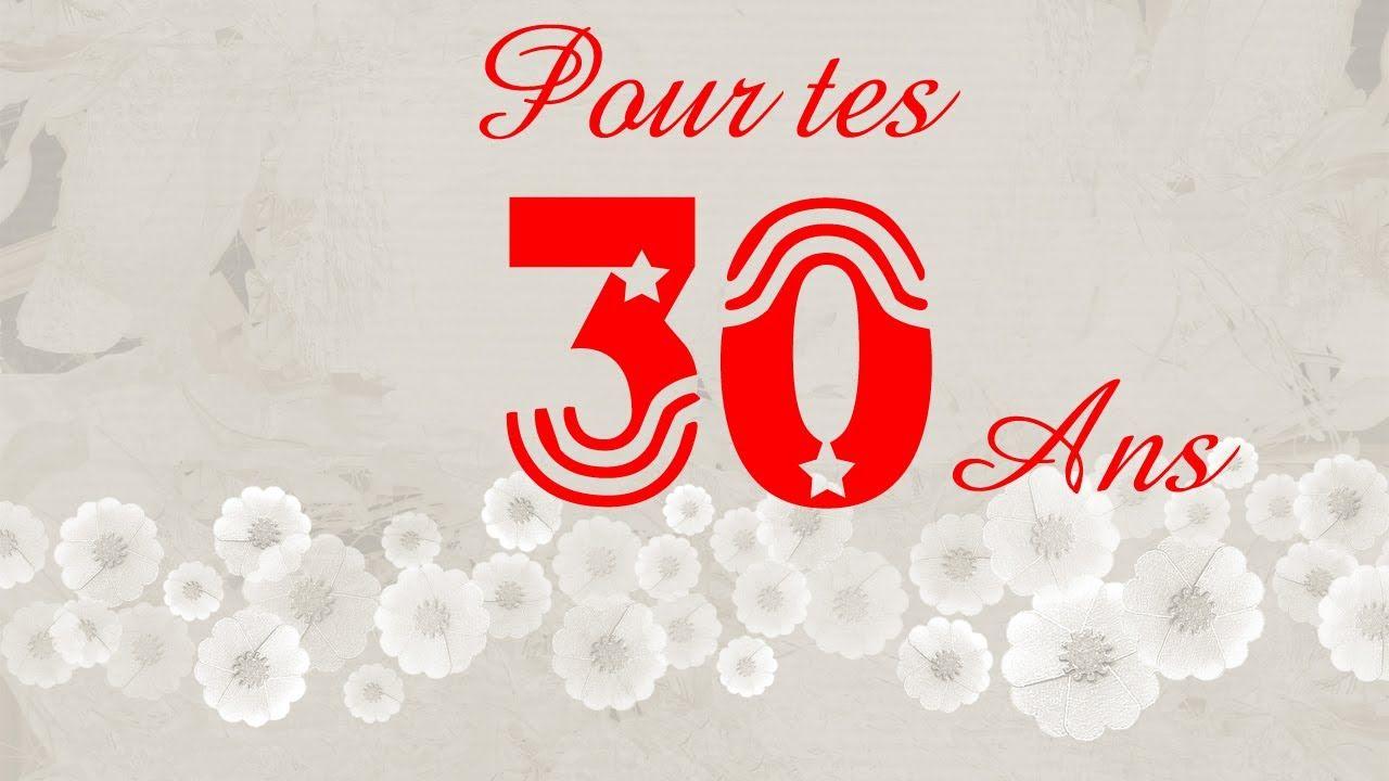 Anniversaire 30 Ans Anniversaire Humour Pour Tes 30 Ans Un Anniversaire Inoubliable