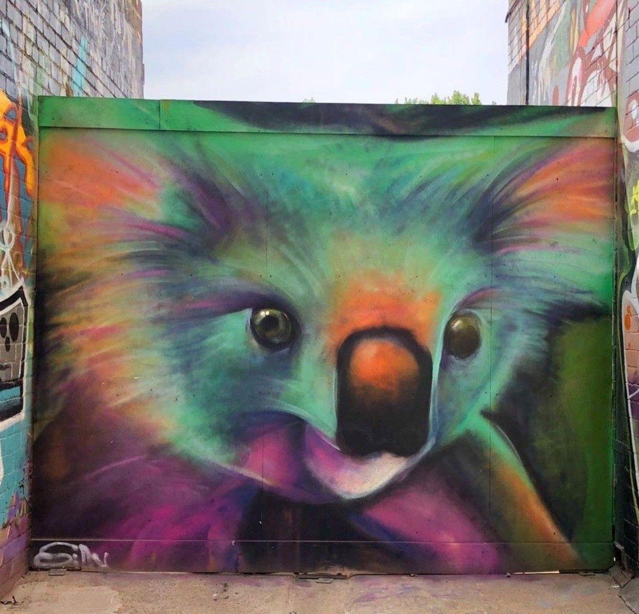 Silly Sully In 2020 Murals Street Art Street Art Urban Art Graffiti