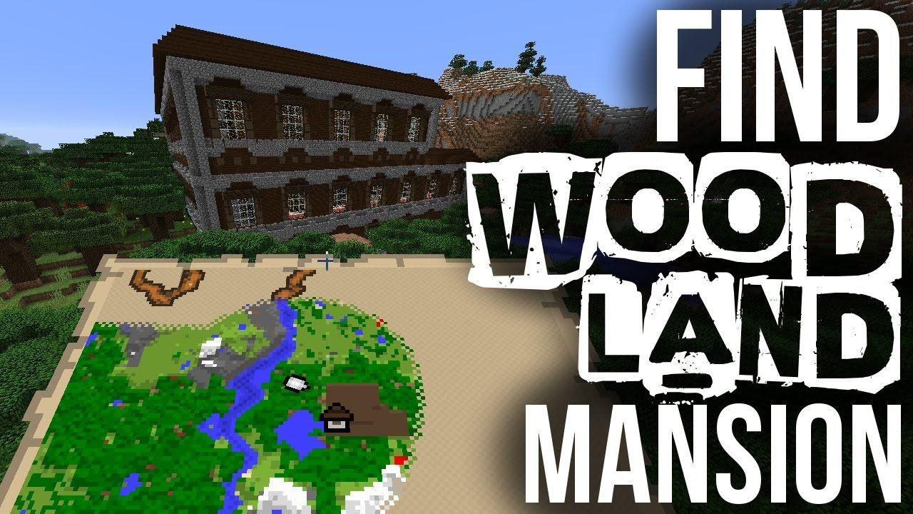 How To Find Woodland Mansions Minecraft Mansions Minecraft