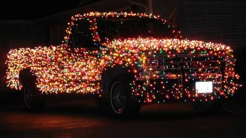 Not for sure that this is a Ford, but it certainly has the Christmas ...
