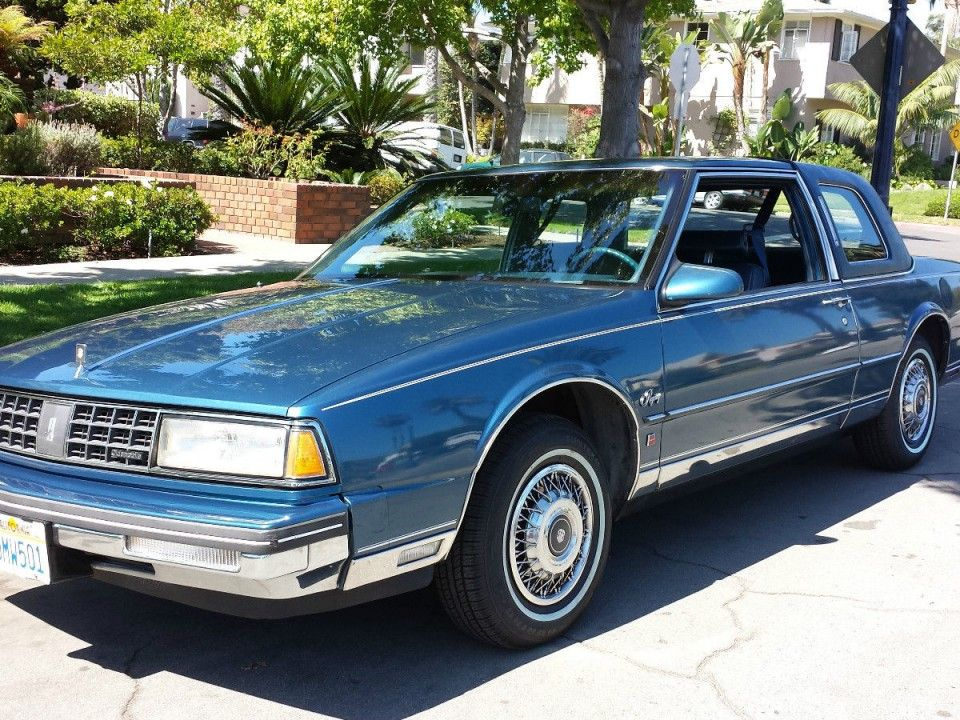 1987 Oldsmobile Ninety Eight Brougham Coupe Oldsmobile Cool Car