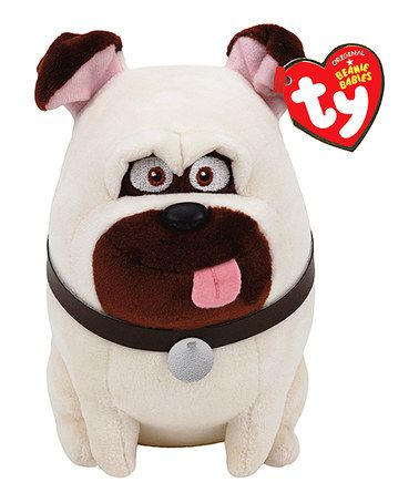 Another Great Find On Zulily The Secret Life Of Pets 8 Mel Plush Toy Zulilyfinds Boo The Dog Beanie Boo Dogs Secret Life Of Pets