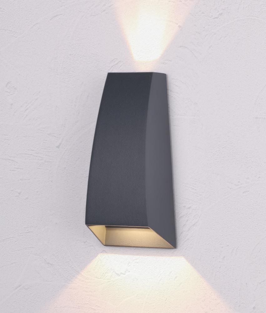 Aplique Led Gris Oscuro Jackson Wall Lights Decor Home Decor