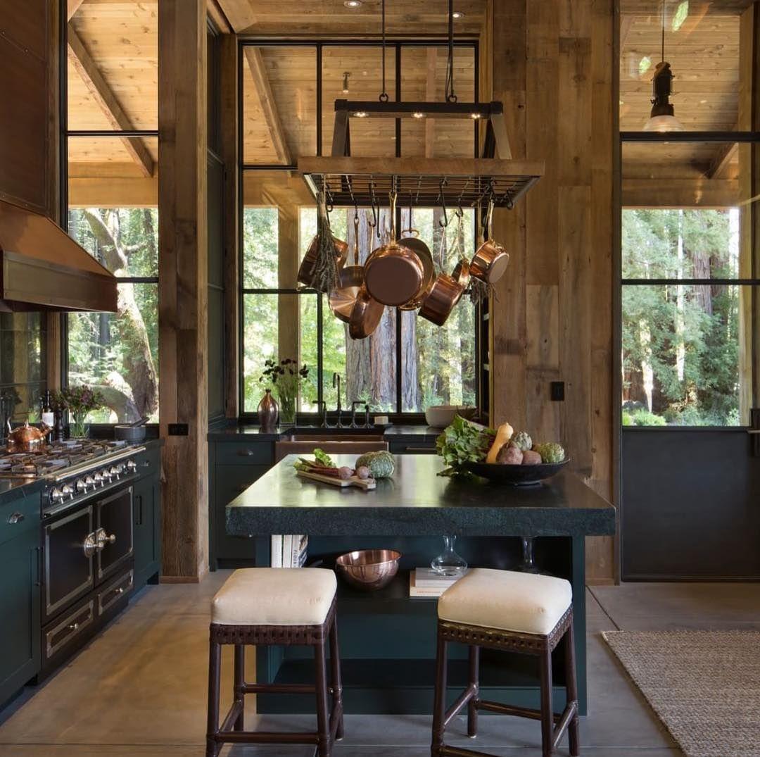 Napa Valley Kitchens Instagram: Design Chic On Instagram: €�Cozy Kitchen Designed By