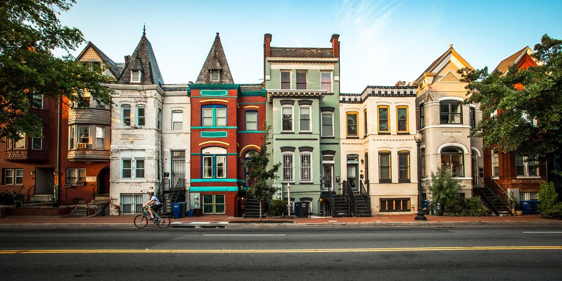Washington Dc Row Houses Shaw Floridaave
