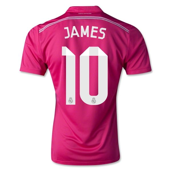 Real Madrid 14/15 JAMES Away Soccer Jersey   Soccer jersey, Real ...