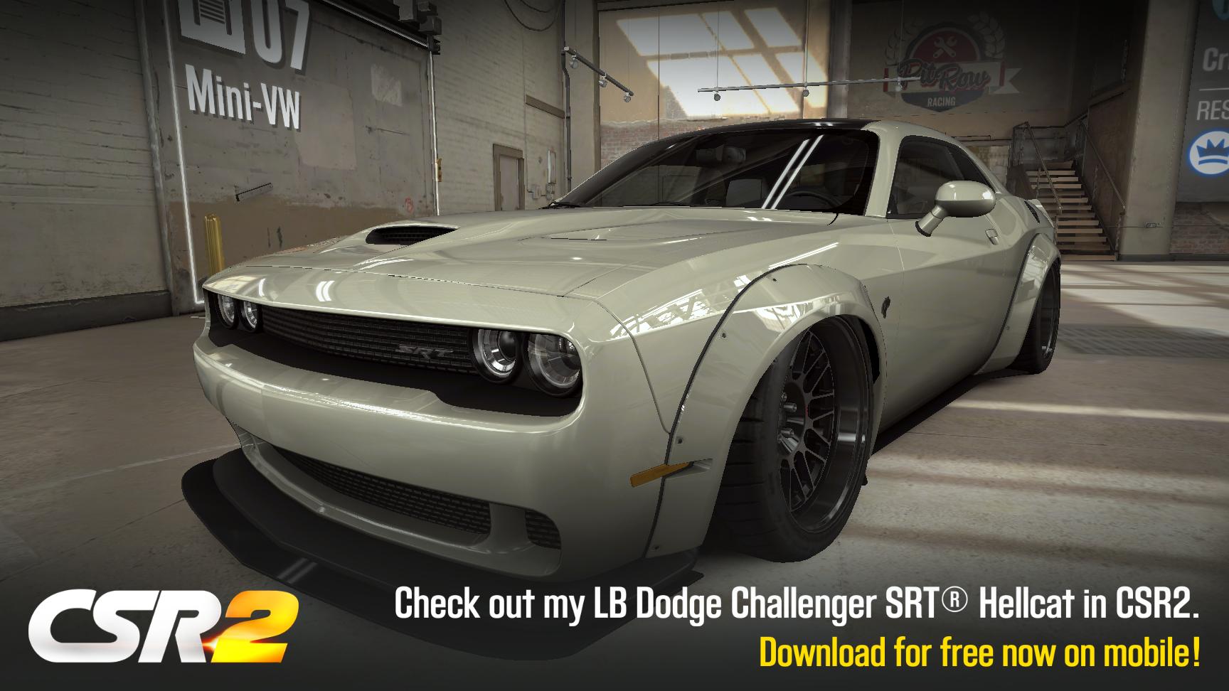 Impala 2009 chevy impala body kit : My CSR Racing franchise car #50: LB #Dodge Challenger SRT Hellcat ...