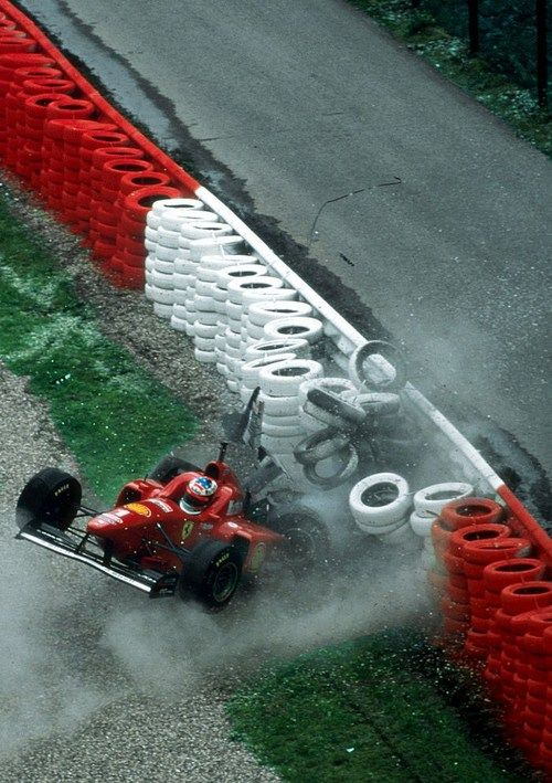 Michael Schumacher  Ferrari  Spa 1996
