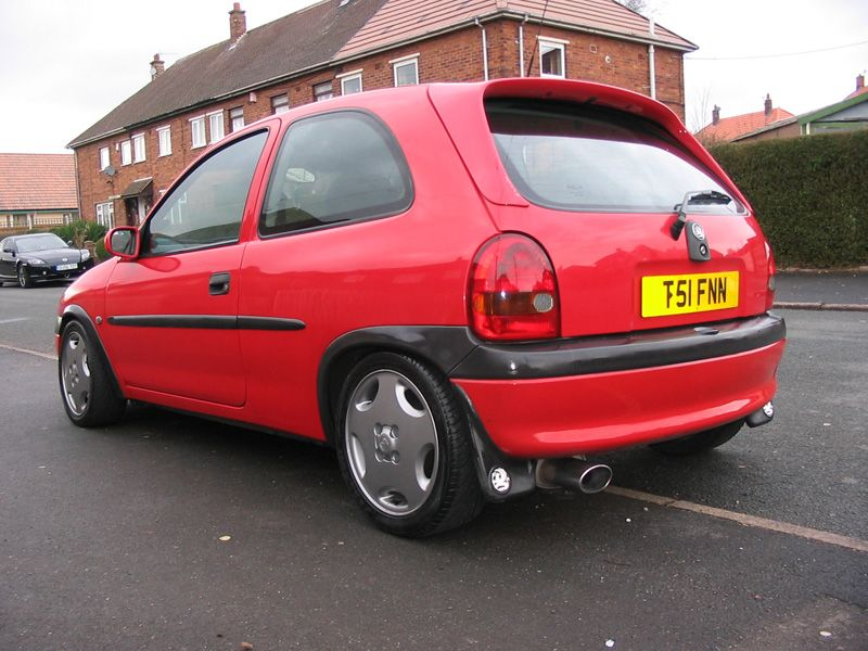 Modified Flame Red Corsa Pictures Corsa Sport For Vauxhall And