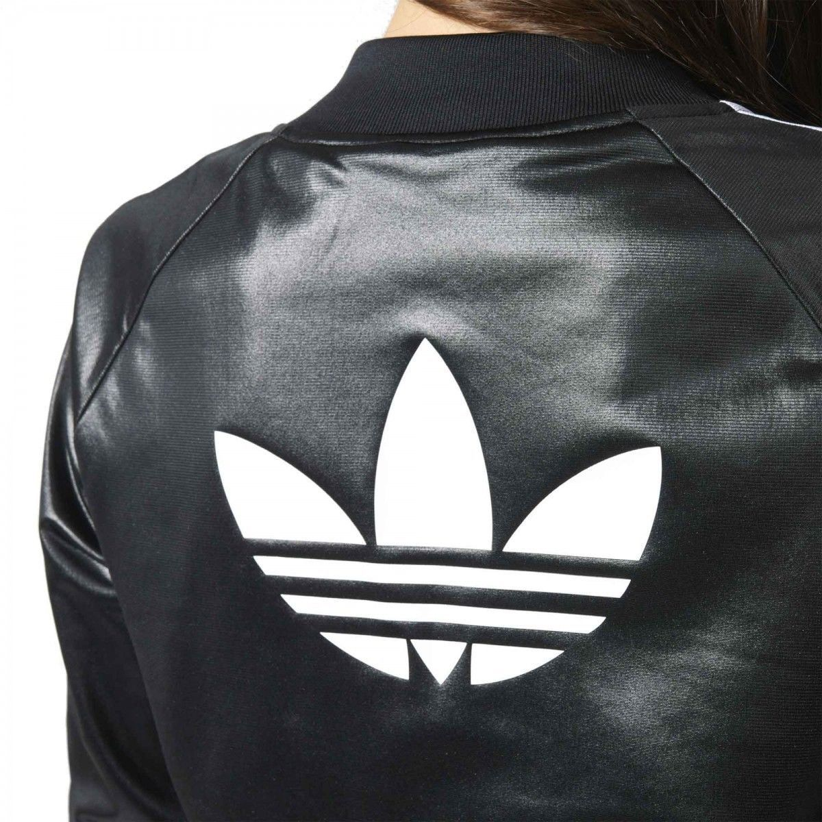 6110eedfe325b Supergirl Jacket AY7892. adidas Originals. A true classic. It flashes a big  Trefoil on the back. The modern fit hugs curves for a stylish update to the  ...
