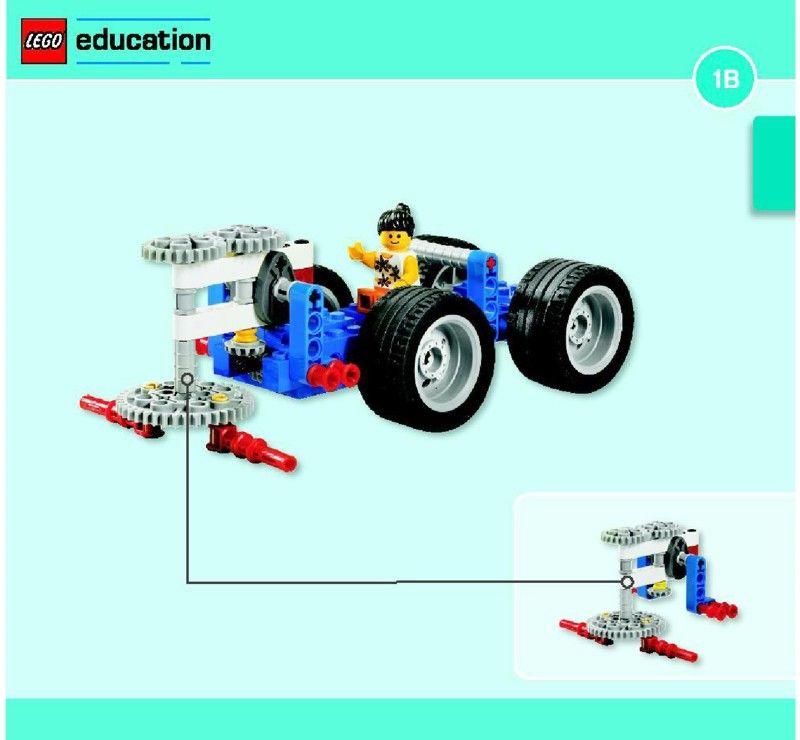 Education - Simple & Powered Machines Set [Lego 9686] | Lego