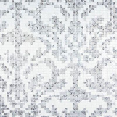 Bisazza Mosaico Decori 20 - Damasco Oro Bianco