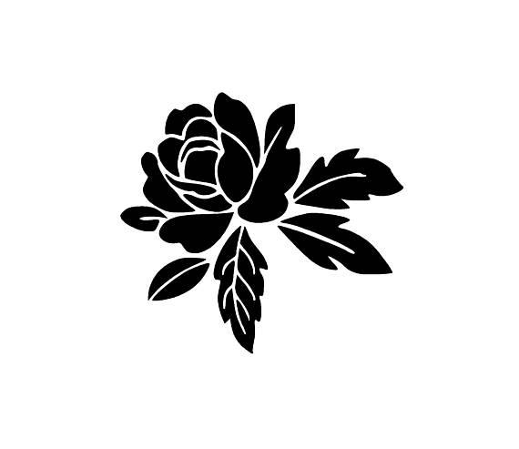 Flower Svg And Png Digital Download Flower Graphic Flower Etsy In 2021 Flower Svg Flower Graphic Flower Clipart