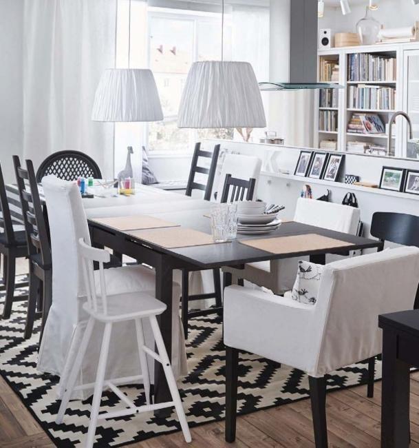6 Family Friendly Modern Kitchen Design Trends Ikea Dining Room Dining Room Design Ikea Decor