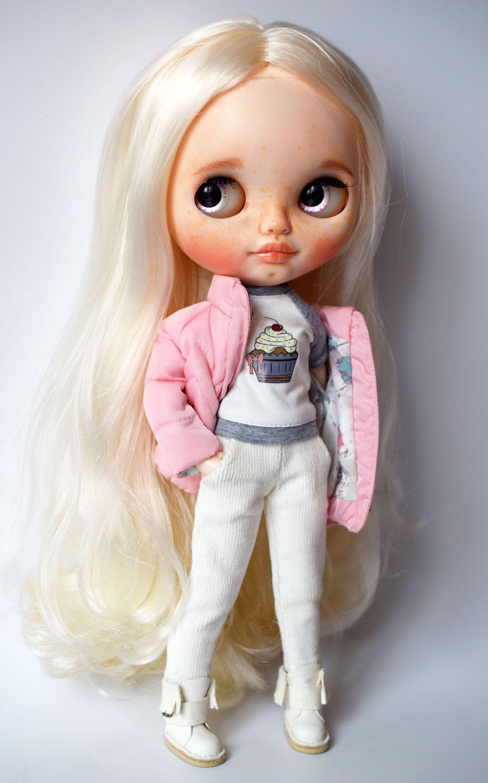 Ooak Custom Nbl Factory Fake Blythe Doll In 2020 Blythe Dolls Blythe Dolls