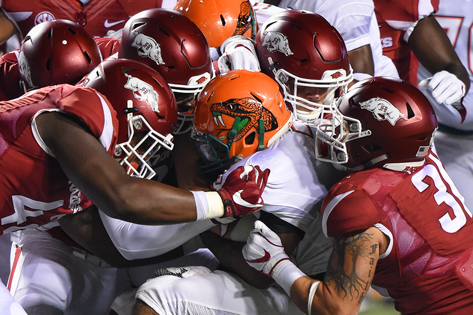 Hogs Handle Florida A&M In Season Opener Little rock