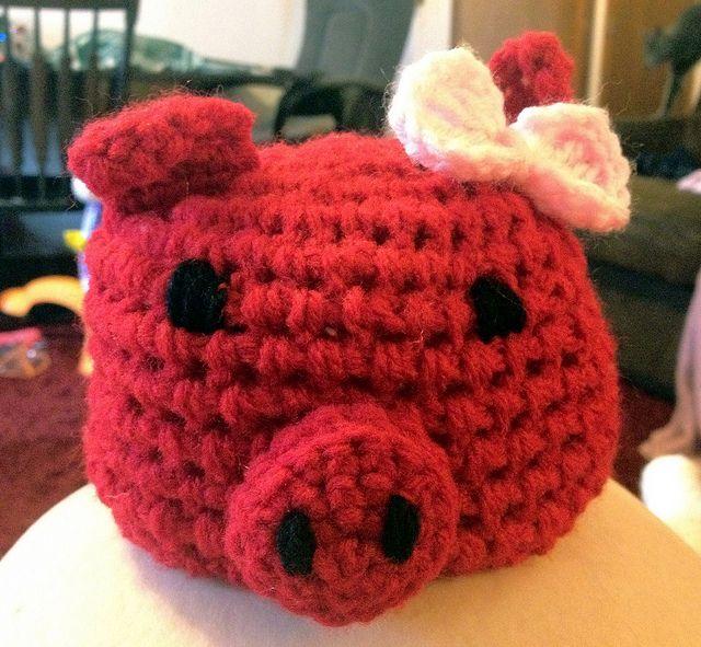 Razorback Baby Girl Hat