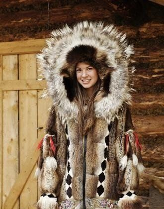 ad9d8db5151 Genuine native inuit Eskimo fur coat in 2019 | collections | Fur ...