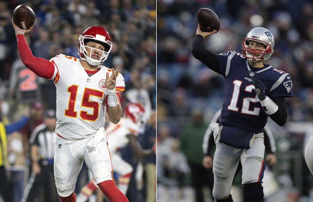 Tom Brady Patrick Mahomes Swap Praise Before Patriots Chiefs Showdown Sunday National Football League News The Patrio New England Patriots Patriots Nfl Week