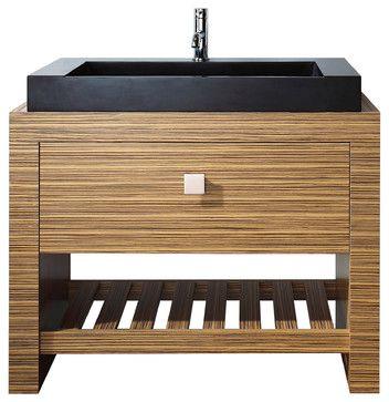Knox 39 in Vanity Combo - contemporary - bathroom vanities and sink