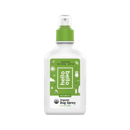 Hello Bello Bug Spray 6 7oz Green Organic Bug Spray Bug Spray