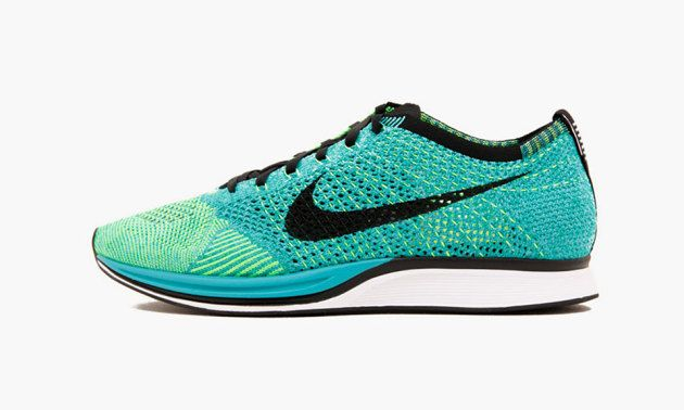 3ea21d9c53ff Nike Flyknit Racer Turquoise Lucid Green • Highsnobiety