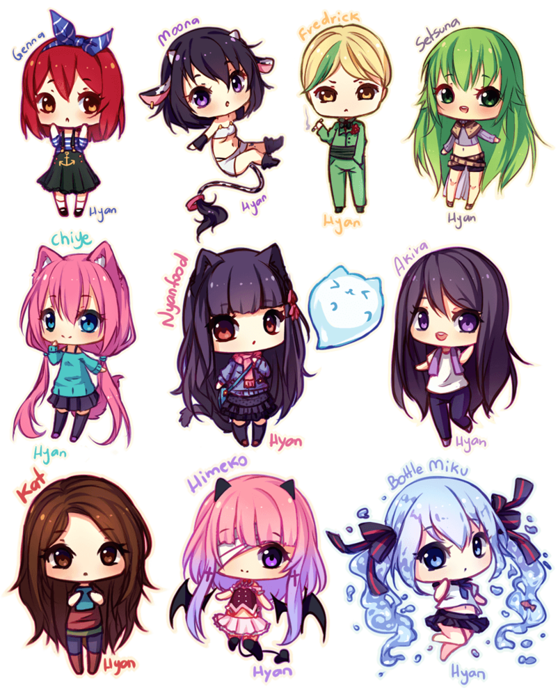 Yay yay cute tiny chibi gifts/prizes/trade to lovely