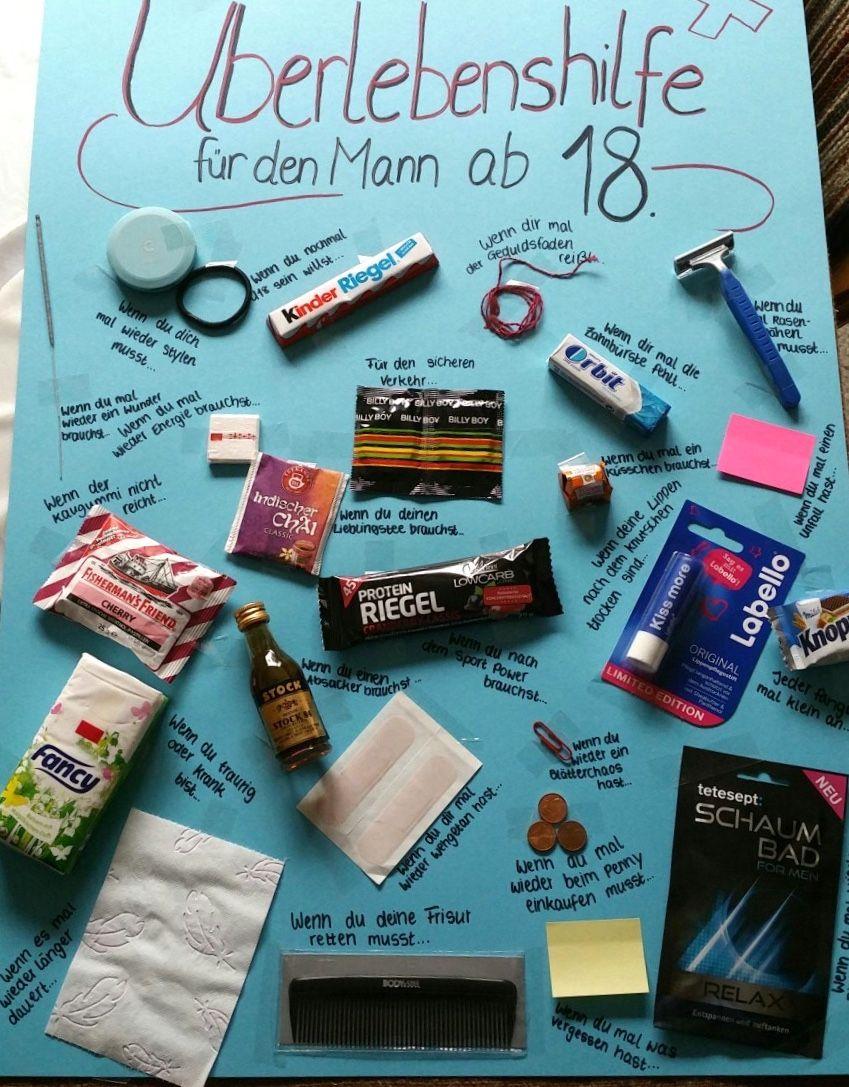 Idea Tablón personalizado con regalitos #lustigegeschenke