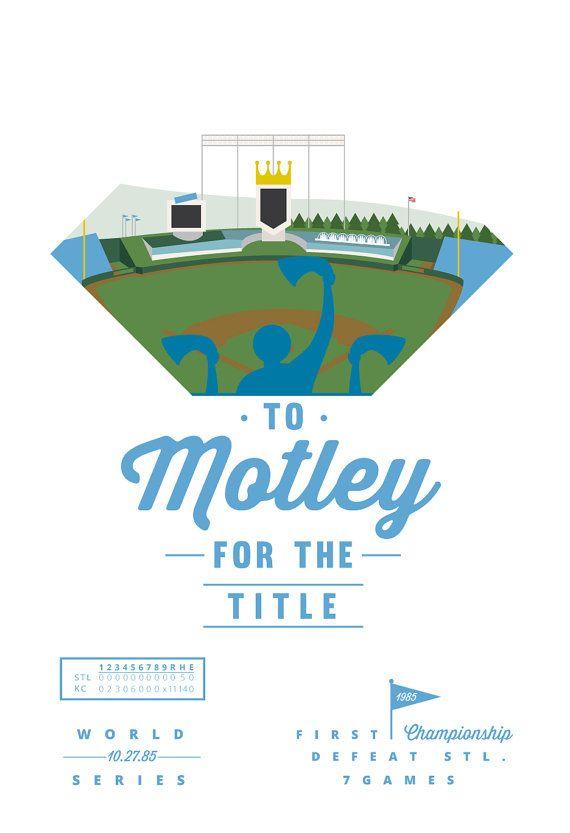 Minimal Baseball Illustration: Kansas City by dannykarpinski