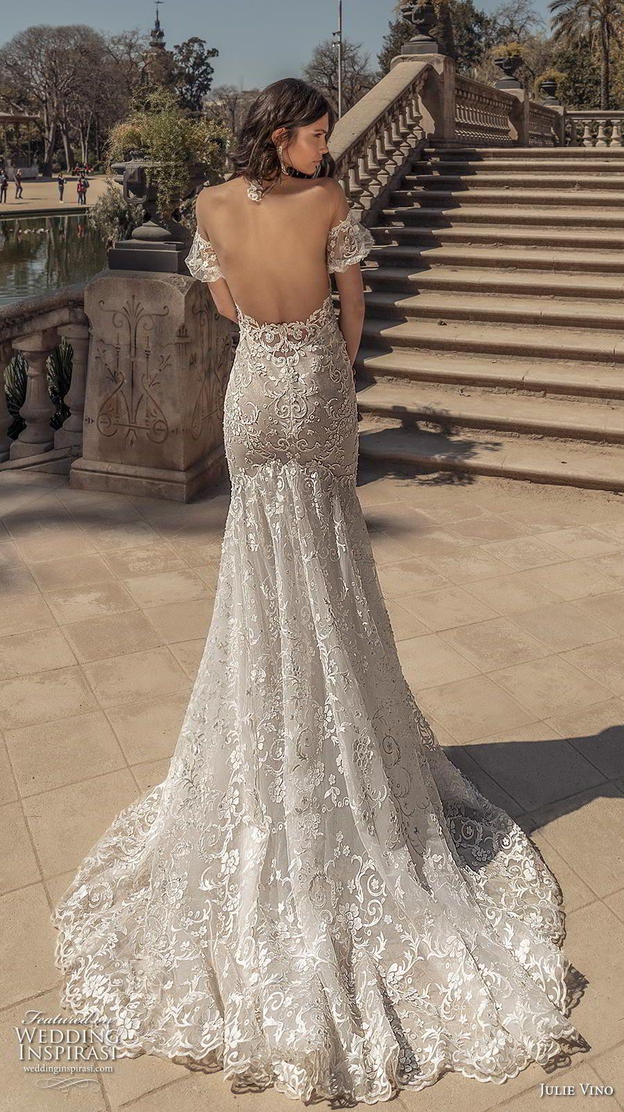 Julie Vino Spring 2020 Wedding Dresses Barcelona Bridal Collection Wedding Inspirasi Demetrios Wedding Dress Wedding Dress Trends Wedding Dresses 2020 [ 1604 x 900 Pixel ]