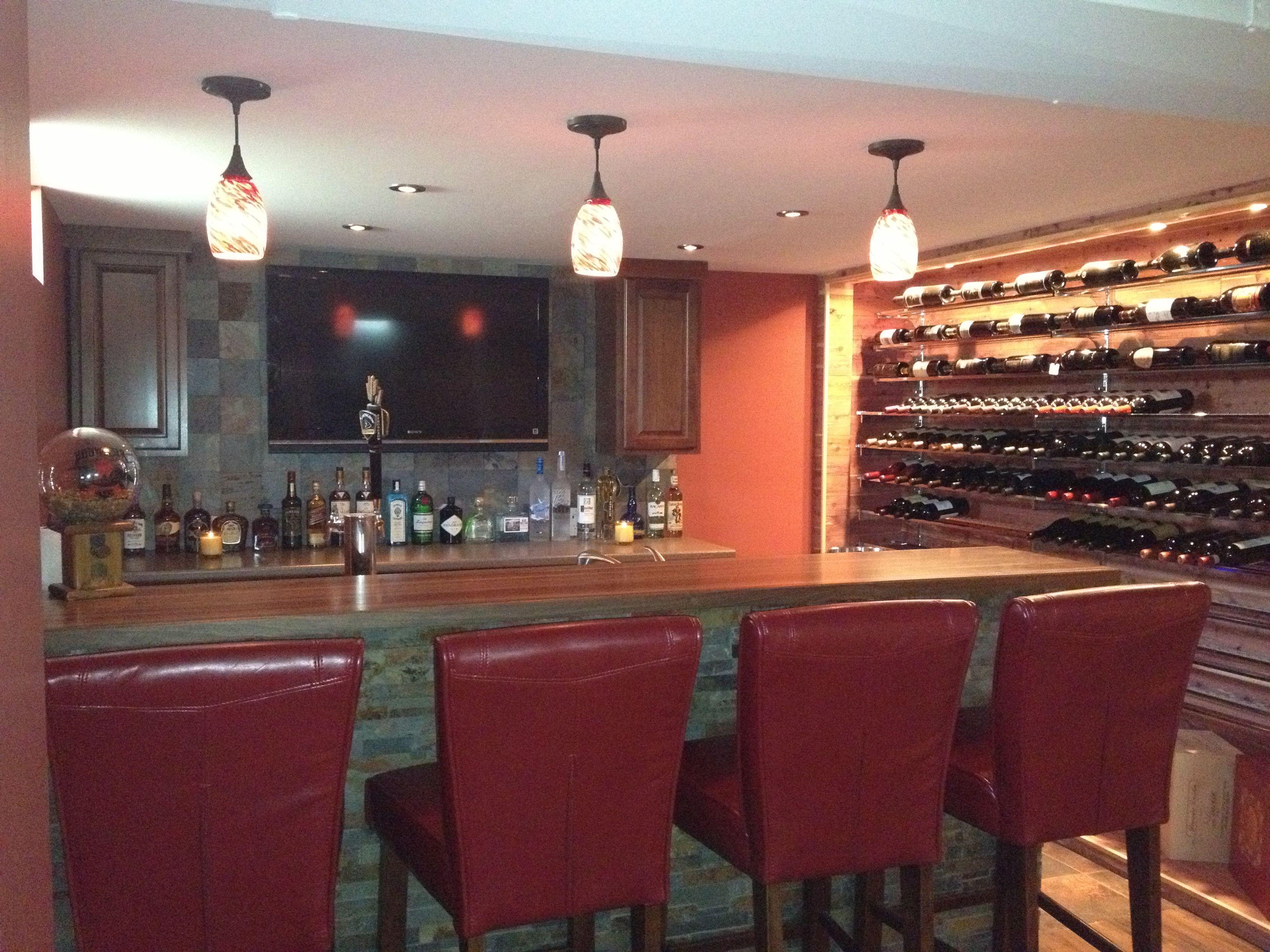 Basement bar and wine cellarfabulous home pinterest wine