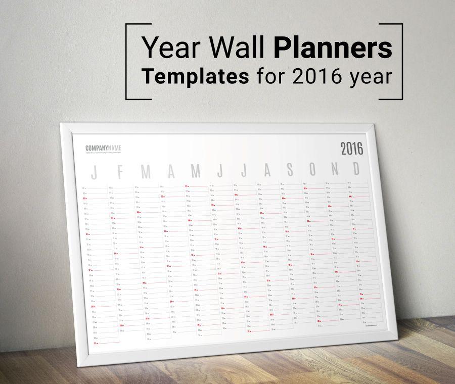 Poster-Wall-Planner-KP-W10 calendars Pinterest Template - weekly schedule template